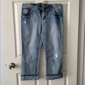 American Eagle Hipster Cropped Jean